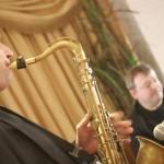 Saxophonist Lancashire
