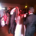 Paul sings the first dance