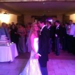 first dance at Beeston Manor
