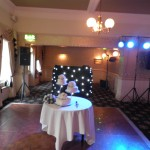 Setting up in the Windsor Suite