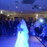 first dance at Marriott Worsley