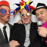 Fun in the photo booth!