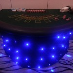 Blackjack table all ready for action!