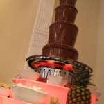 chocolate fountain hire haydock