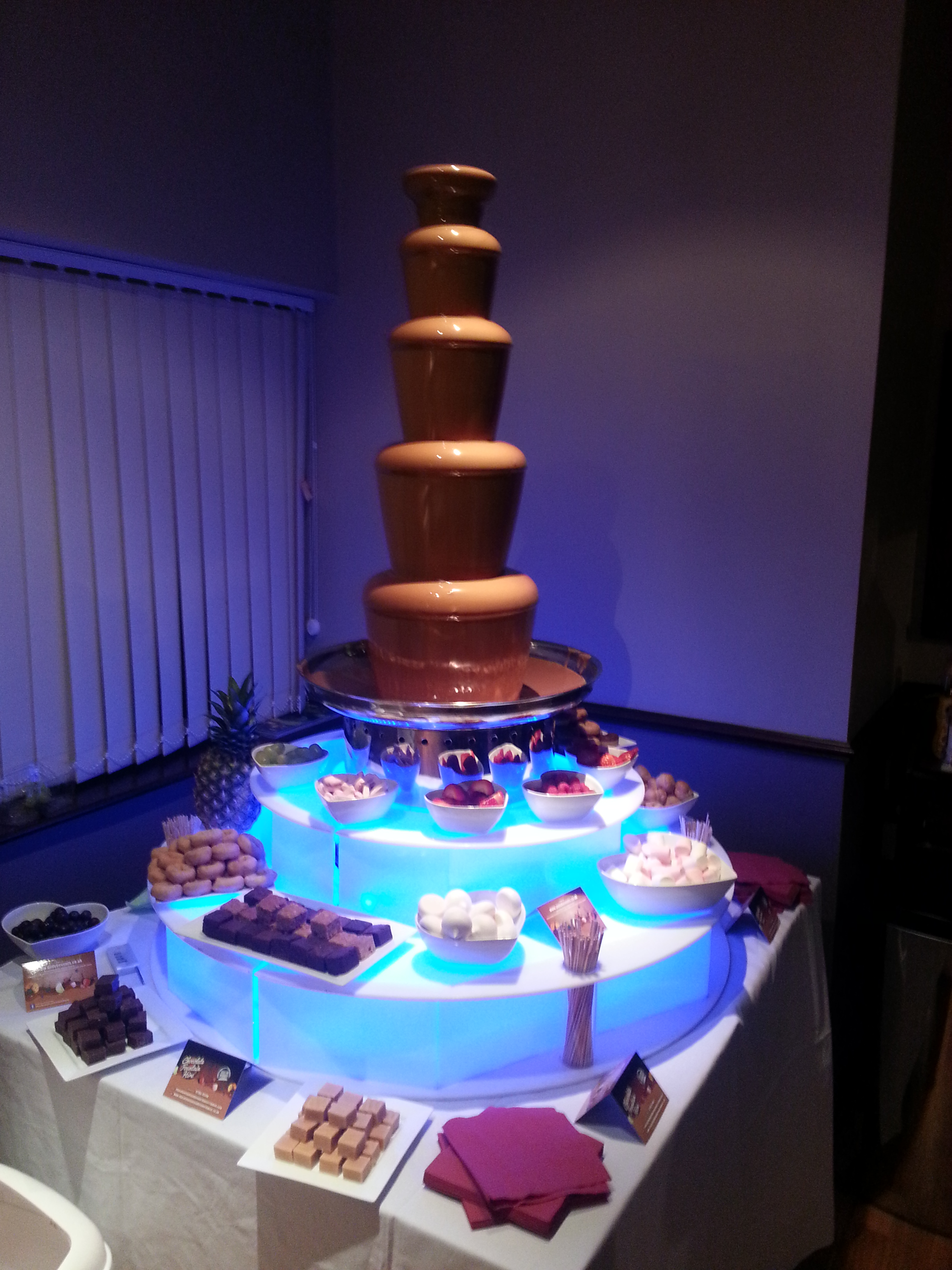 AndyB Events Lancashire Chocolate Fountain Hire