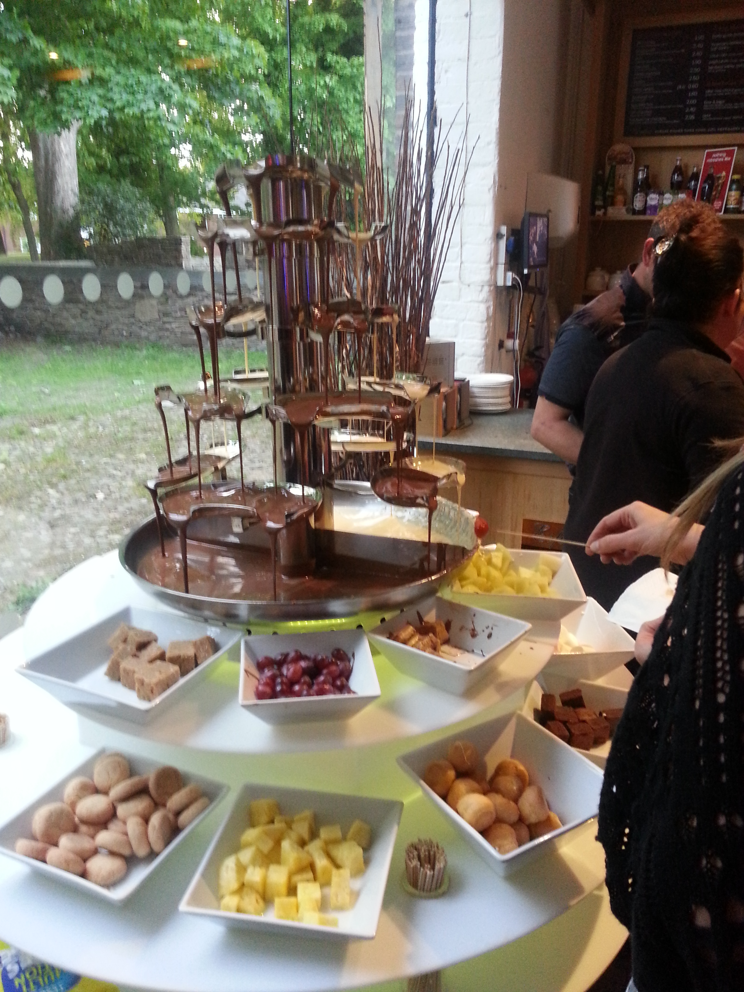 Wedding Chocolate Fountain Hire Chocolate Fountain Hire