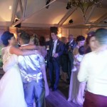 Guests join the bride & groom on the dance floor