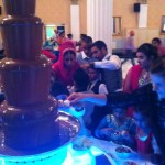 large chocolate fountain hire blackpool