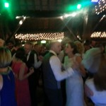 wedding dj rivington hall barn