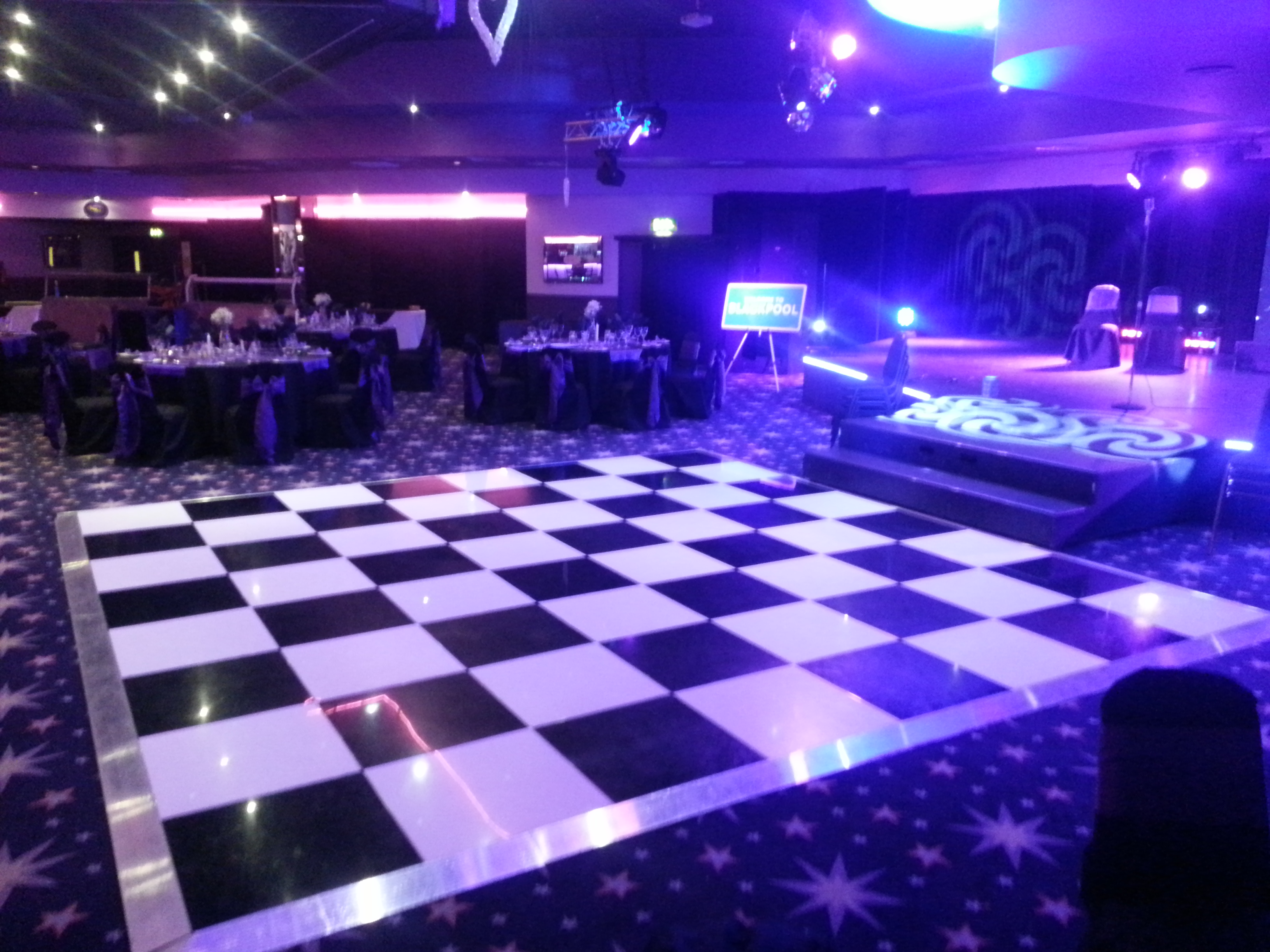 AndyB Events » Dance Floor Hire Blackpool & North West