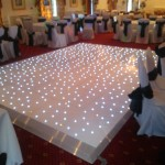 twinkling dance floor hire