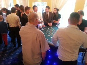 casino table hire preston