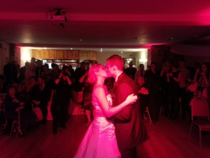 Their first dance performed to 'Truly Madly Deeply'