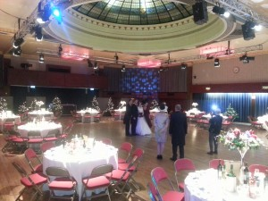 wedding dj marine hall