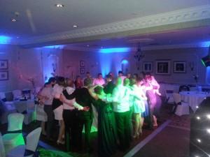wedding discos wood hall