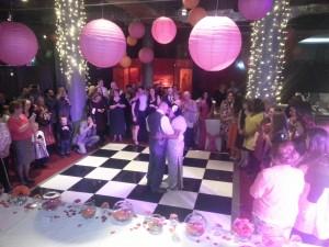 wedding dj place hotel