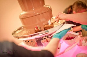 chocolate fountain hire preston