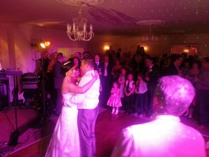 wedding dj singleton lodge