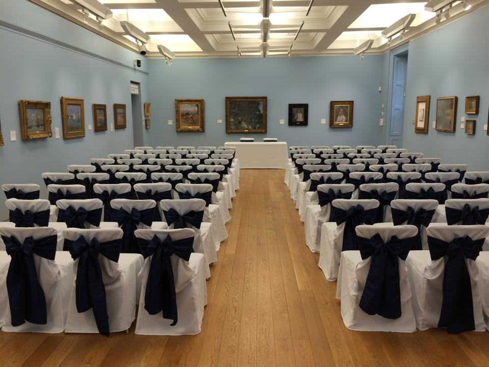 chair covers manchester art gallery