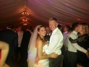 wedding dj claughton hall