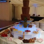 chocolate fountain haydock thistle