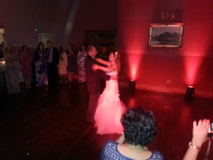 wedding dj haigh hall