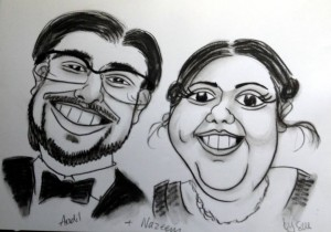 caricaturist blackburn