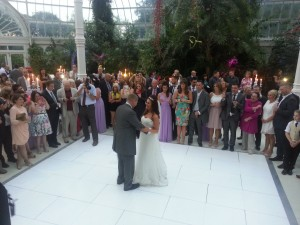 palm house wedding dj