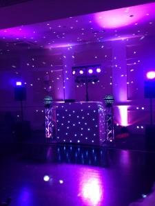 DJ Gary set up