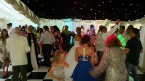 wedding disco soughton hall