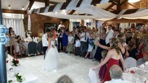 wedding DJ davenport green hall