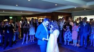 wedding dj wrightington country club