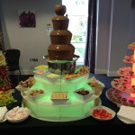 chocolate fountain hire north west