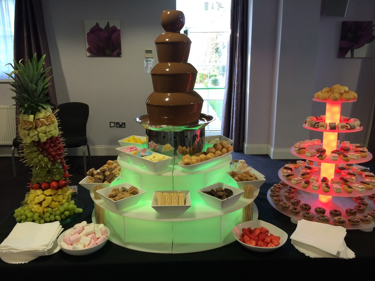 AndyB Events » Chocolate Fountain