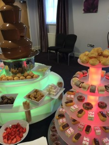 chocolate fountain hire northwest