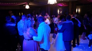 guests joining the first dance