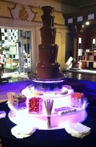 chocolate fountain hire blackpool