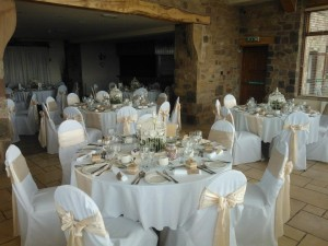 beeston wedding chair cover hire