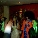 wedding disco glamorous chinese restaurant