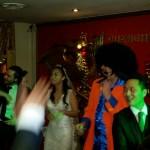 wedding disco glamorous chinese restaurant