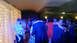 Guests joining the bride & groom on the dance floor