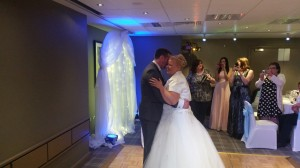 village hotel blackpool wedding dj