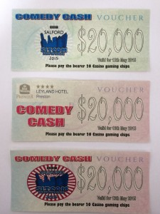 Personalised funny money for the casino