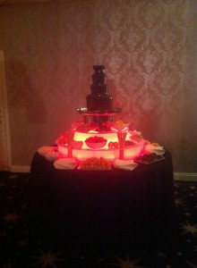blackpool chocolate fountain hire