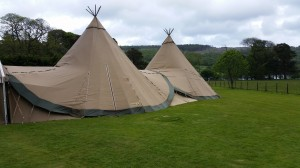 wedding dj tipi coniston