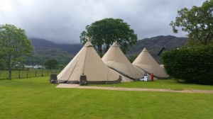 wedding dj waterhead tipi
