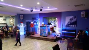 Set up at the St Ives Hotel in St Annes