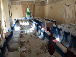 chair cover hire north west