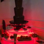 large chocolate fountain victoria hotel oldham