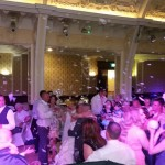 Mr & Mrs Giles first dance in the Washington Suite complete with exploding balloon!